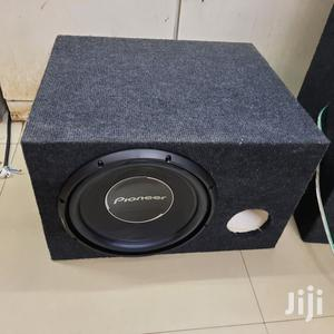Pioneer Single Coil Subwoofer With Cabinet | Vehicle Parts & Accessories for sale in Nairobi, Nairobi Central