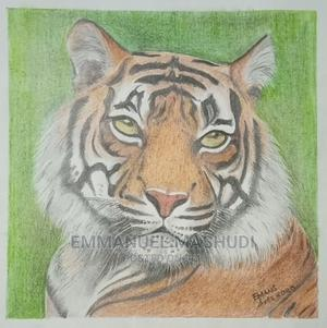 Colored Pencil and Oil Pastel Drawing(Fine Art)   Arts & Crafts for sale in Mombasa, Kisauni