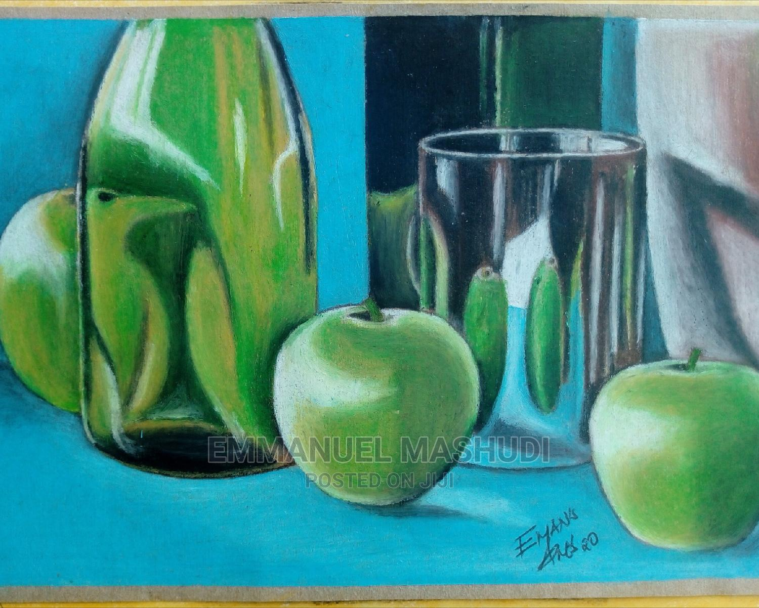 Archive: Oil Pastels Drawing