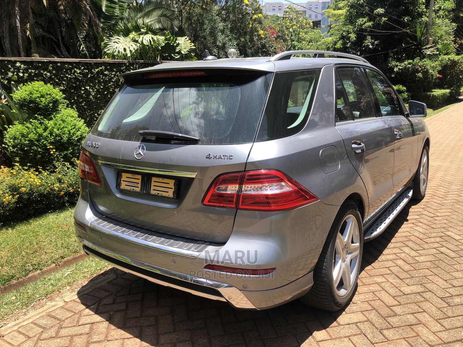 Mercedes-Benz M Class 2014 Gray   Cars for sale in Runda, Nairobi, Kenya