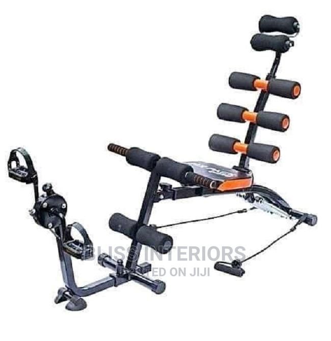 Extreme 6 Pack Care Abs Machine With Pedals