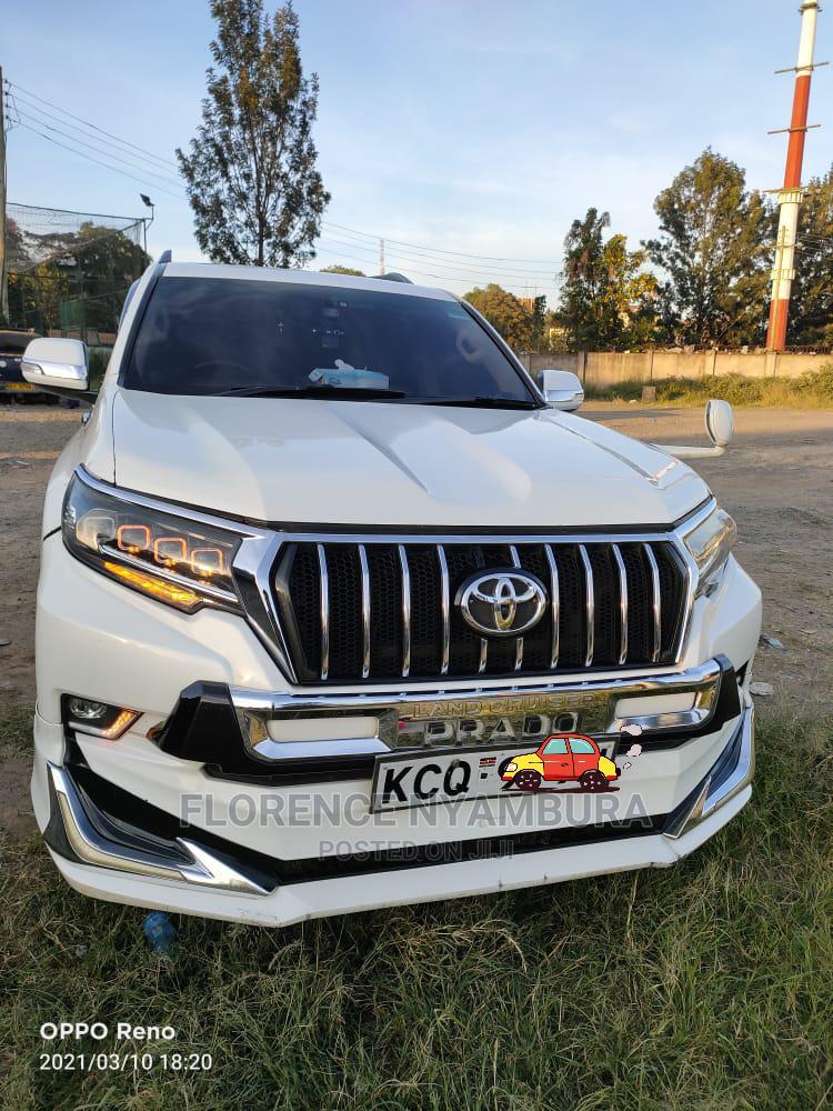 Toyota Land Cruiser Prado 2012 White