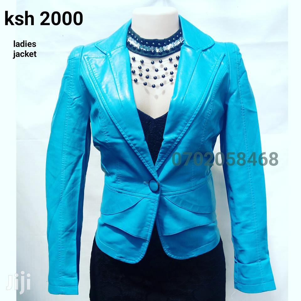 Blue Women/Ladies Jacket