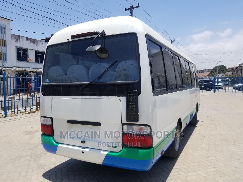 Toyota Coaster 2014 White   Buses & Microbuses for sale in Majengo, Mvita, Kenya