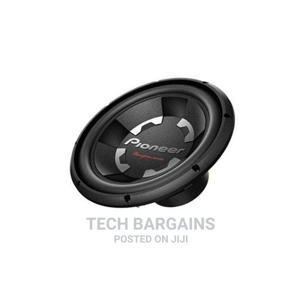 "Archive: Pioneer Car Subwoofer TS-300S4 12"" 1400 Watts Bass Speaker."