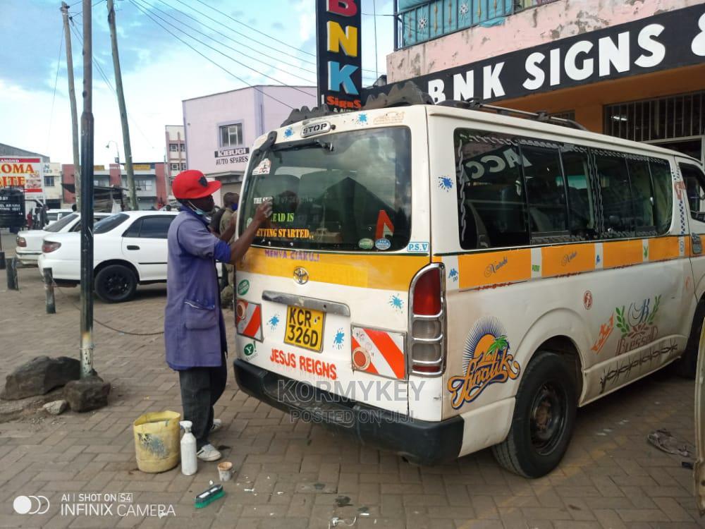 Toyota Hiace 7l.Auto Petrol | Buses & Microbuses for sale in London, Nakuru, Kenya