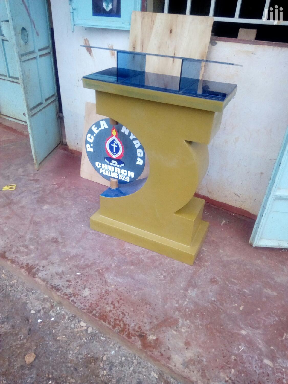 Pulpits/Podiums | Furniture for sale in Pangani, Nairobi, Kenya