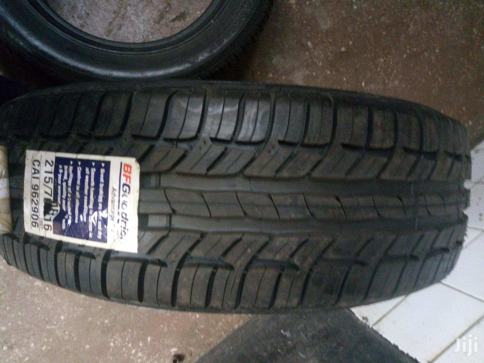 Archive: 215/70R16 BF Goodrich Tyre