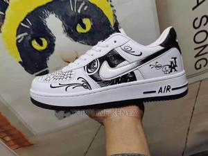 Graffiti Nike AIR FORCE 1'07 Low-Top Casual Sneakers Shoes   Shoes for sale in Nairobi, Nairobi Central