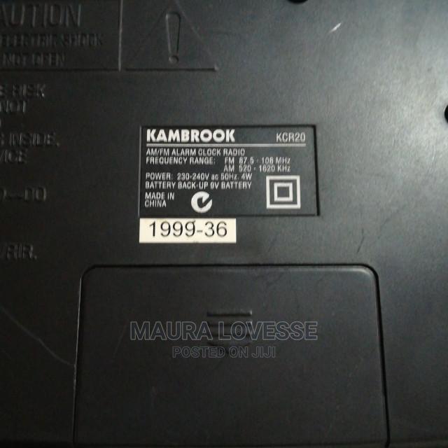 Archive: Vintage Kambrook Alarm Clock Radio