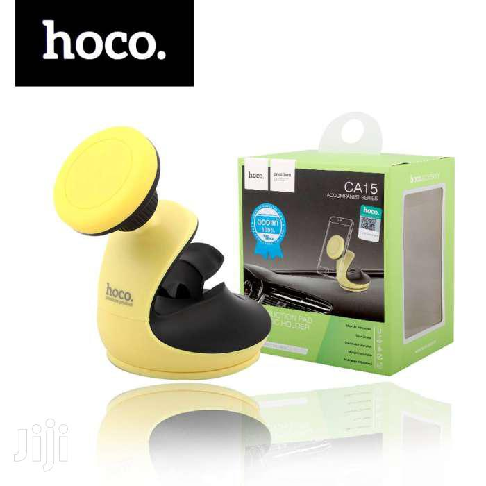 Hoco CA15 Premium Suction Magnetic Dashboard Phone Holder