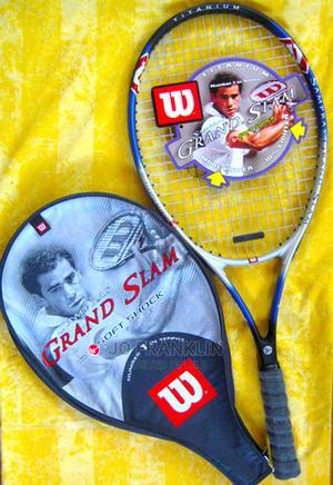 Tennis Racquet /Wilson Titanium Pete Sampras Autograph Gran | Sports Equipment for sale in Nairobi, Lavington