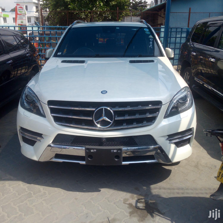 New Mercedes-Benz M Class 2012 White