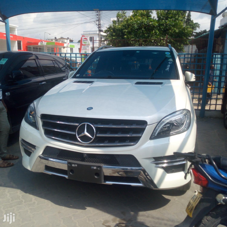 New Mercedes-Benz M Class 2012 White | Cars for sale in Shimanzi/Ganjoni, Mombasa, Kenya