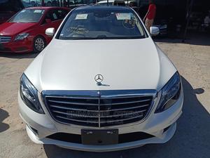 Mercedes-Benz S Class 2016 4dr Sedan White | Cars for sale in Mombasa, Shimanzi