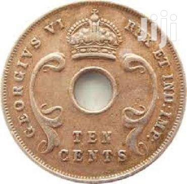East Africa One Cent 1942 GEORGIVS VI REX IT IMP