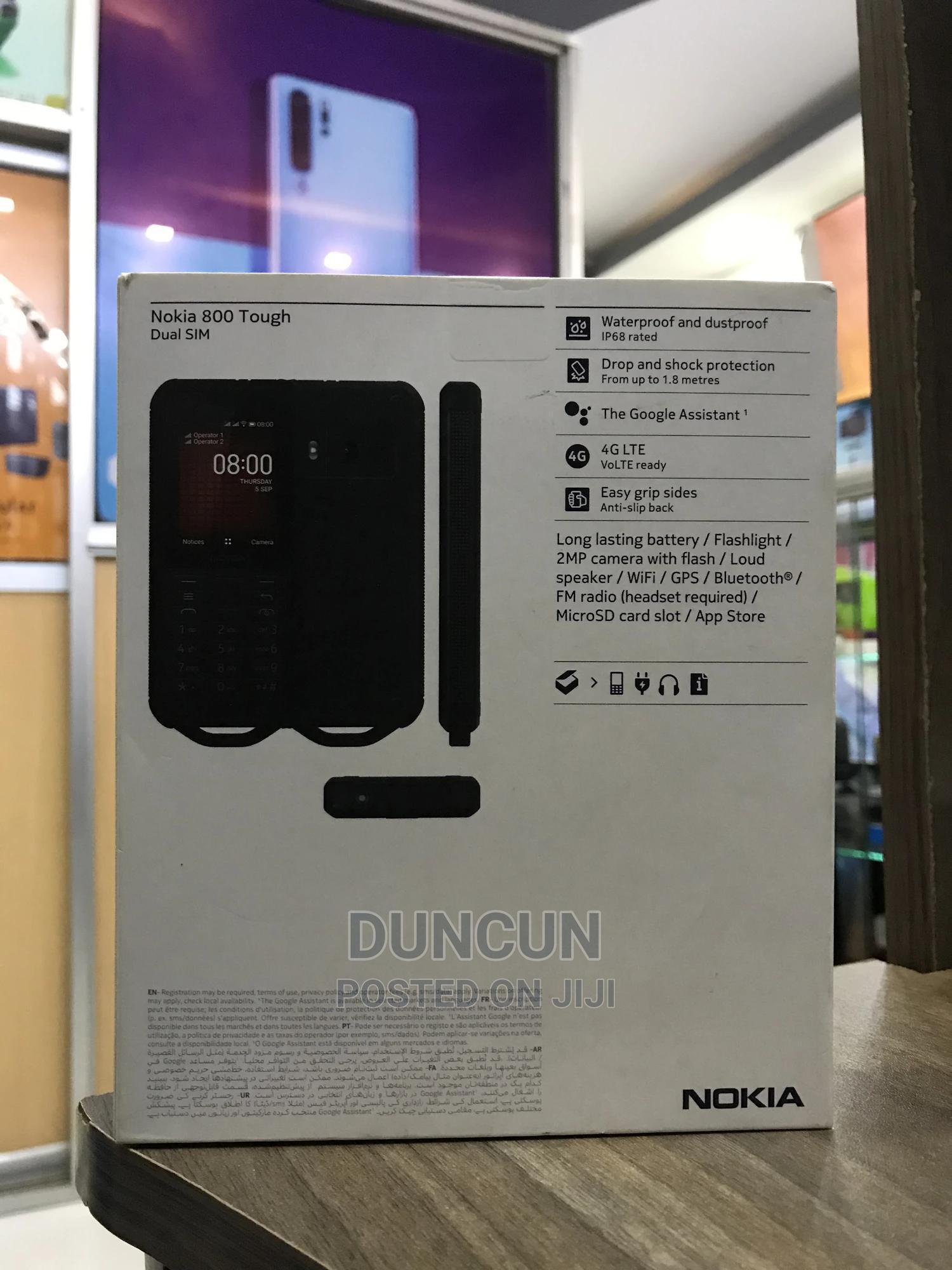 New Nokia 800 Tough 4 GB Black | Mobile Phones for sale in Nairobi Central, Nairobi, Kenya