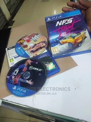 Nfs Heat Plus Fifa 21 Used  | Video Games for sale in Nairobi, Nairobi Central