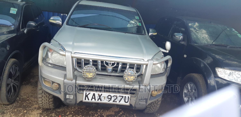 Toyota Land Cruiser Prado 2005 Silver | Cars for sale in Woodley/Kenyatta Golf Course, Nairobi, Kenya