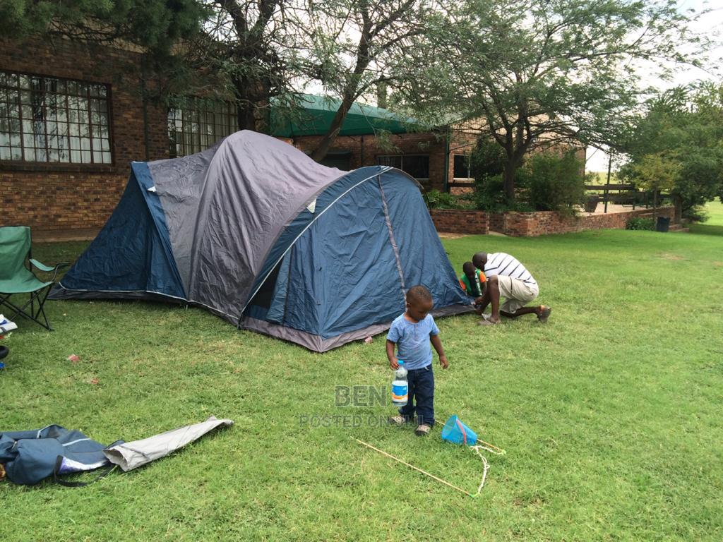 Family Tent With 3 Rooms