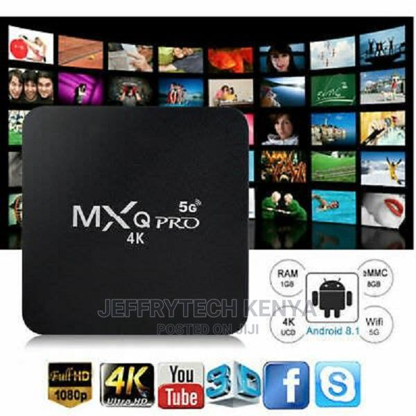 Smart Android 10.1 Tv Box Mxq Pro 5g 4k Ultra Hd Video With