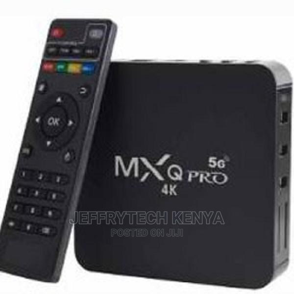Smart Android 10.1 Tv Box Mxq Pro 5g 4k Ultra Hd Video With | TV & DVD Equipment for sale in Nairobi Central, Nairobi, Kenya
