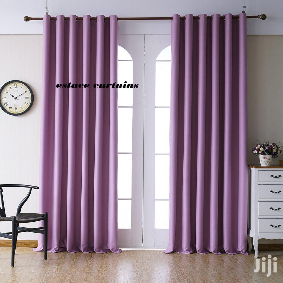 Quality Plain Curtains | Home Accessories for sale in Embakasi, Nairobi, Kenya