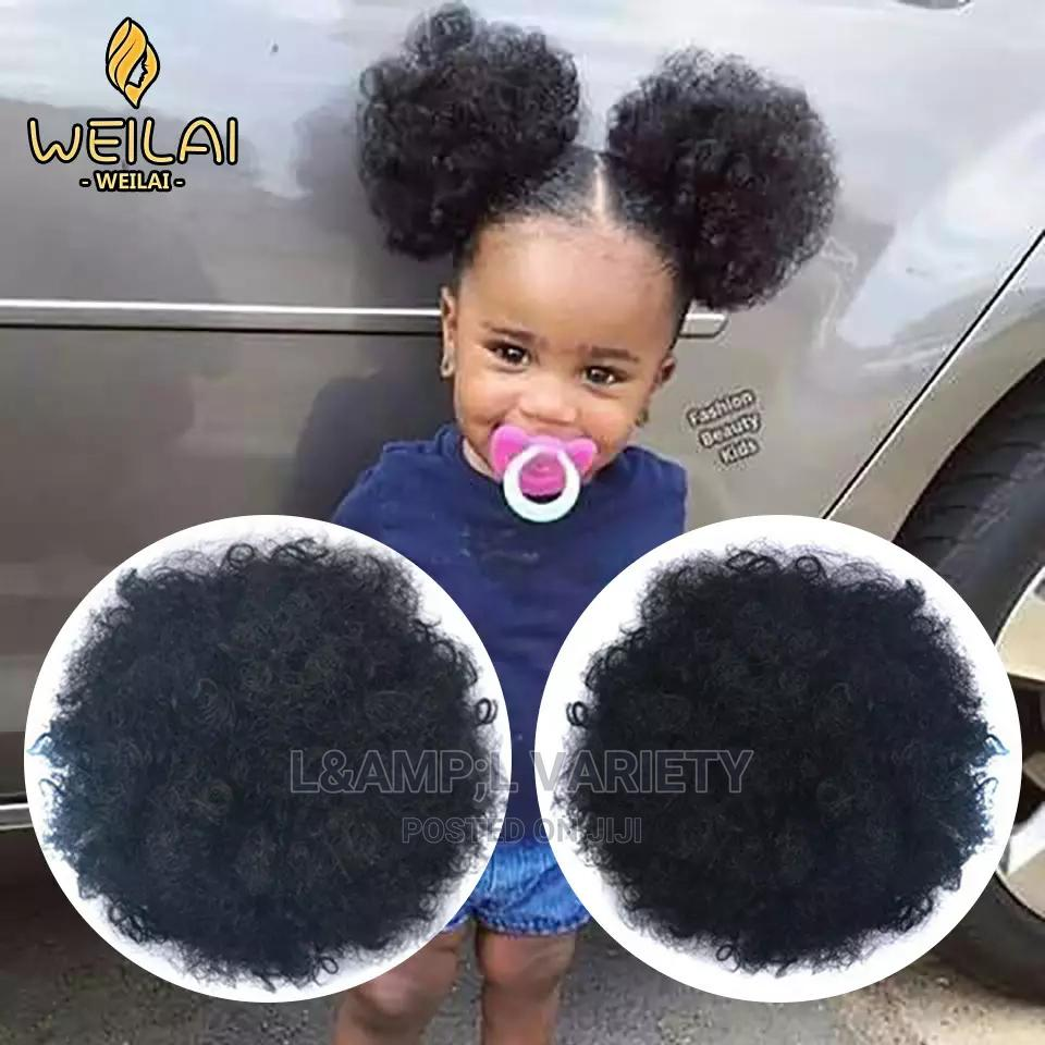Baby Afro Bun | Hair Beauty for sale in Roysambu, Nairobi, Kenya