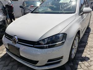 Volkswagen Golf 2014 White   Cars for sale in Mombasa, Shimanzi