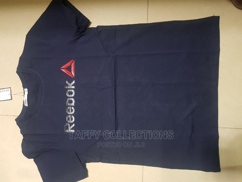 Reebok Tshirts Available in Navy Blue | Clothing for sale in Nairobi Central, Nairobi, Kenya
