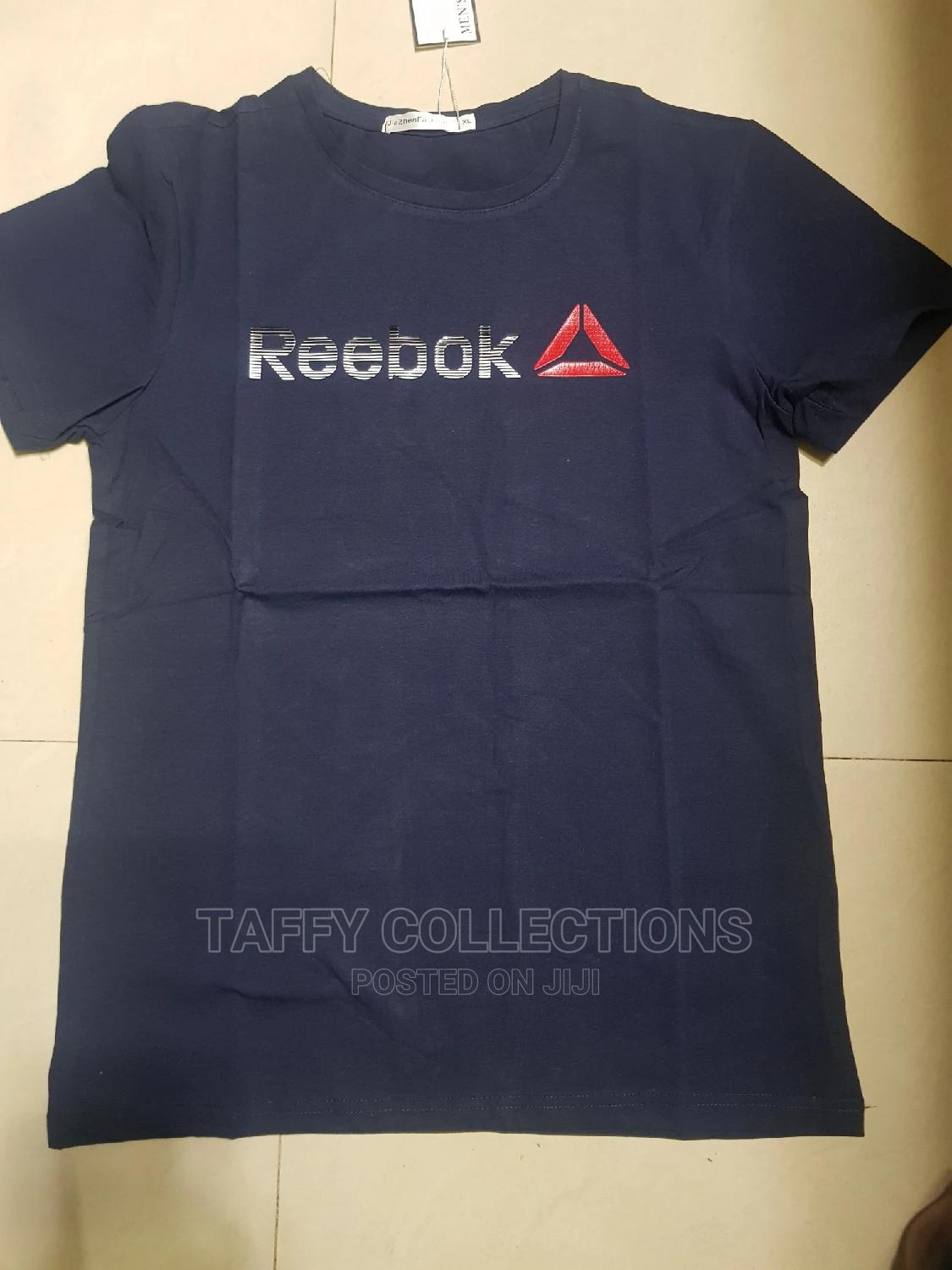 Reebok Tshirts Available in Navy Blue