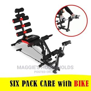 Six Pack Care Bike/6in1 Exercise Bench | Sports Equipment for sale in Nairobi, Nairobi Central