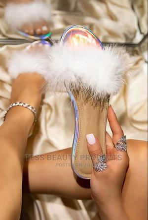 White Flat Fancy Sandals | Shoes for sale in Nairobi, Nairobi Central