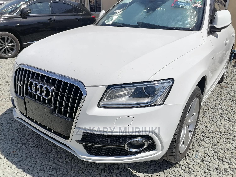 Audi Q5 2014 White | Cars for sale in Shimanzi, Mombasa, Kenya