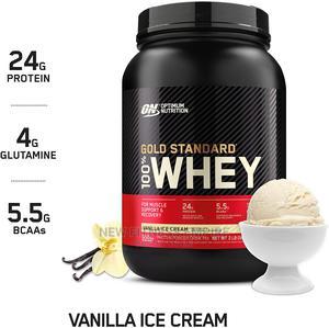 Optimum Nutrition Gold Standard 100% Whey Protein Powder | Vitamins & Supplements for sale in Nairobi, Nairobi Central