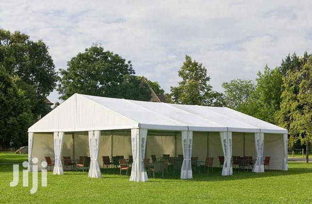 100 Seater White Event Tent For Hire Nakuru