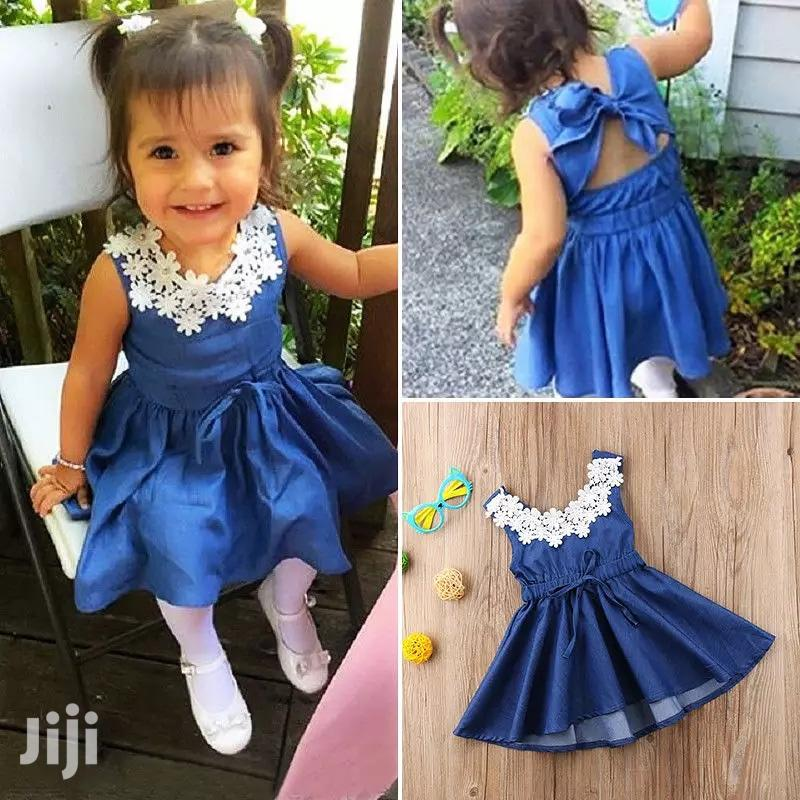 Denim Dress | Children's Clothing for sale in Mvita, Mombasa, Kenya