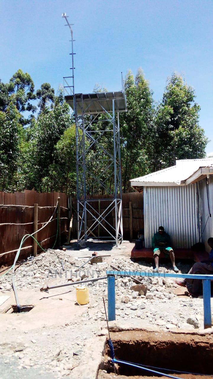 Tank Tower Tank Platform Raised Tank Water Tower Steel Metal   Farm Machinery & Equipment for sale in Eldoret CBD, Uasin Gishu, Kenya