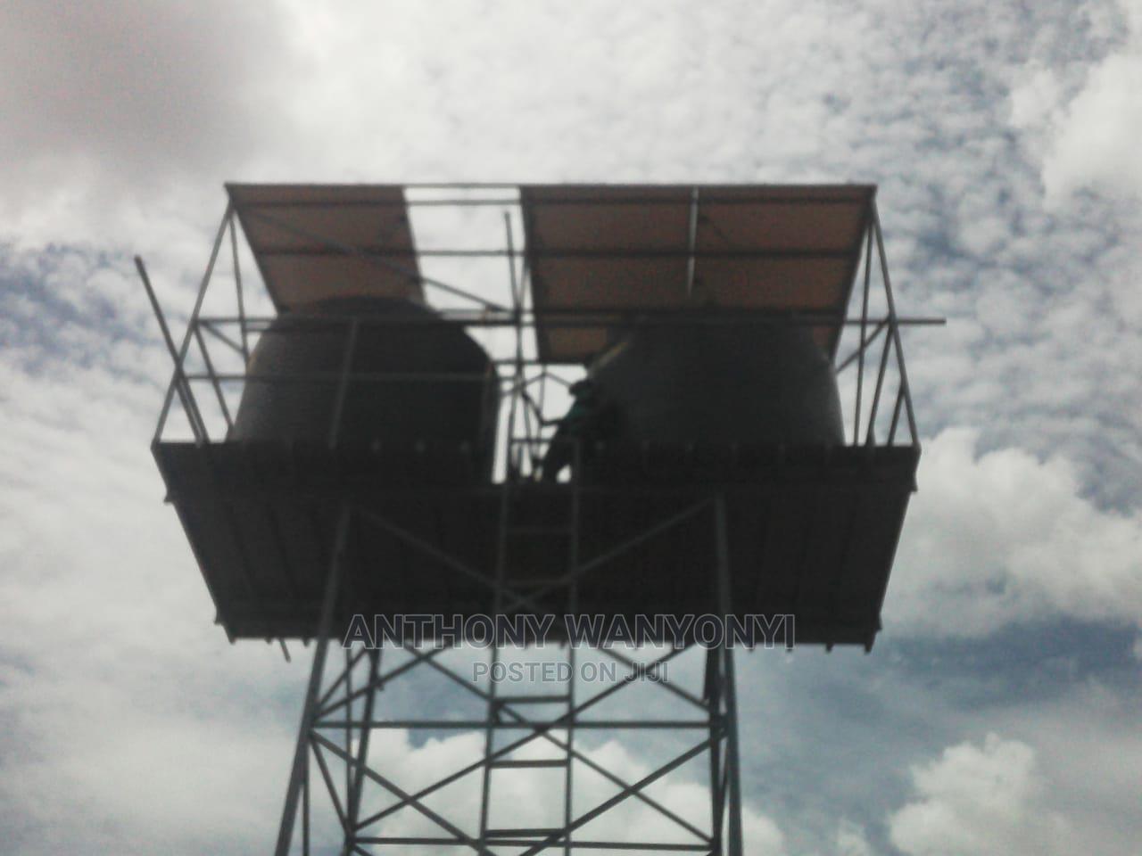 Tank Tower in Kenya, Water Tank in Kenya Embu