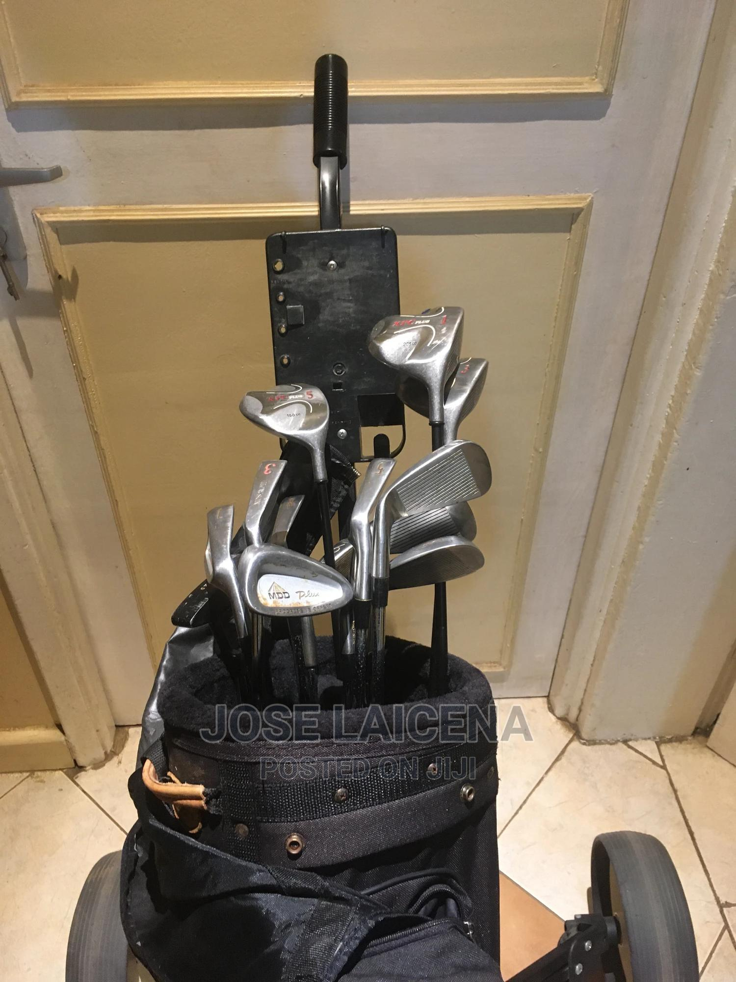 Golf Clubs Complete With All Clubs, Bag and Cart | Sports Equipment for sale in Nairobi Central, Nairobi, Kenya