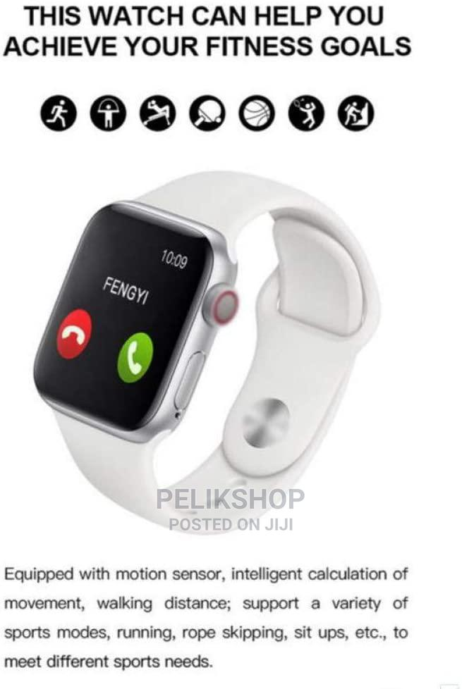 T500 Smart Watch (White, Peach and Black) | Smart Watches & Trackers for sale in Nairobi Central, Nairobi, Kenya