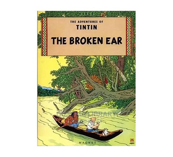 Tintin the Broken Ear by Herge