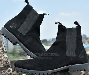 All Black Timberland Mens Suede Leather Boots | Shoes for sale in Nairobi, Nairobi Central