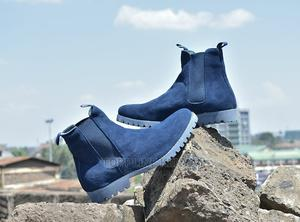 Blue Timberland Mens Chelsea Suede Leather Boots | Shoes for sale in Nairobi, Nairobi Central