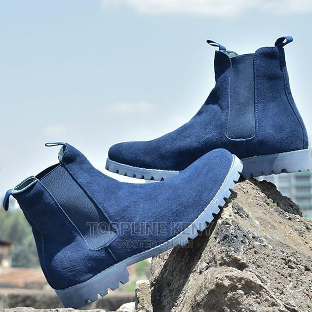 Blue Timberland Mens Chelsea Suede Leather Boots   Shoes for sale in Nairobi Central, Nairobi, Kenya