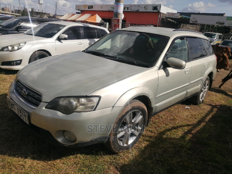 Archive: Subaru Outback 2006 Gold