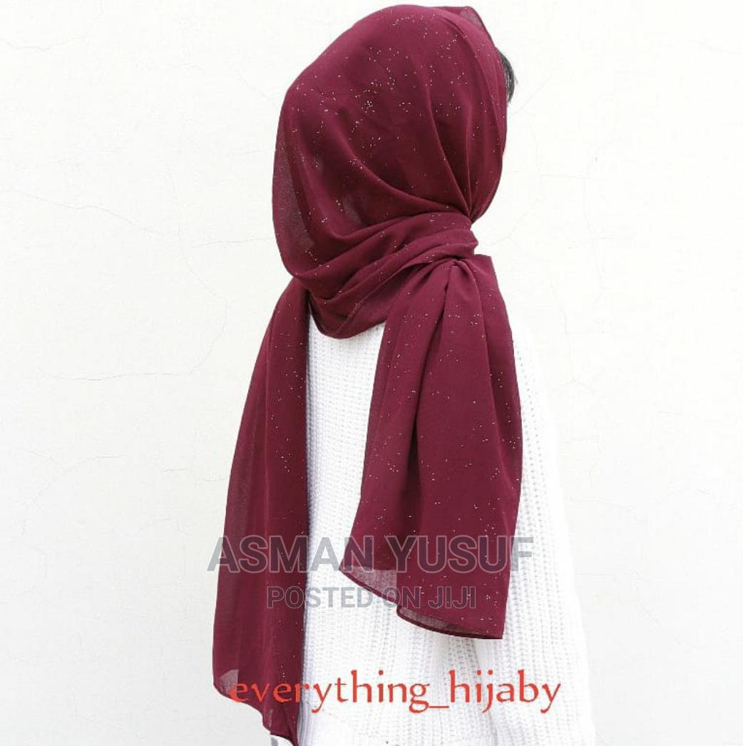 Shimmer Chiffon Hijab | Clothing Accessories for sale in Nairobi Central, Nairobi, Kenya