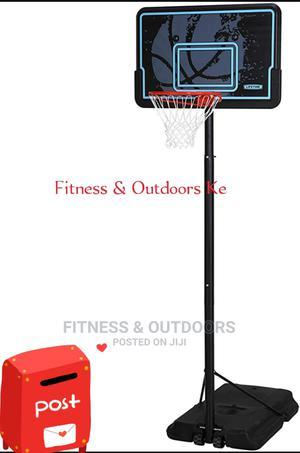 Offer! Portable Basketball Hoop + Ball | Sports Equipment for sale in Nairobi, Karen