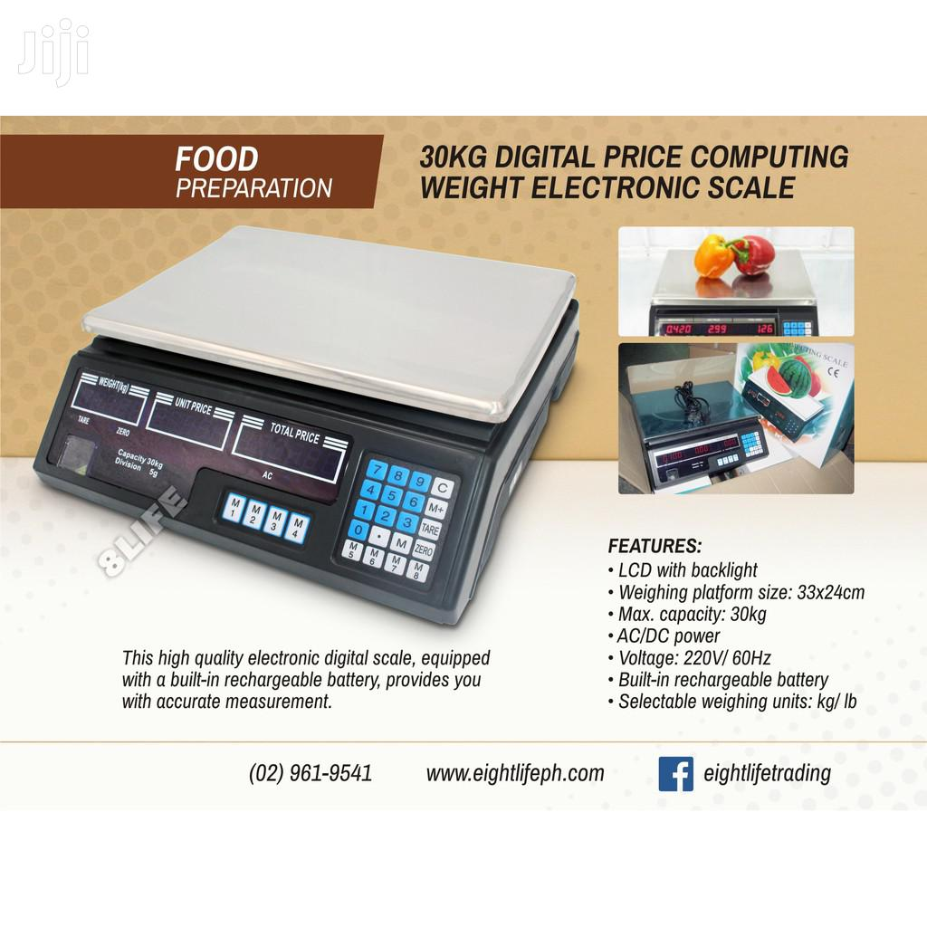 30KG Digital Price Computing Weight Electronic Scale
