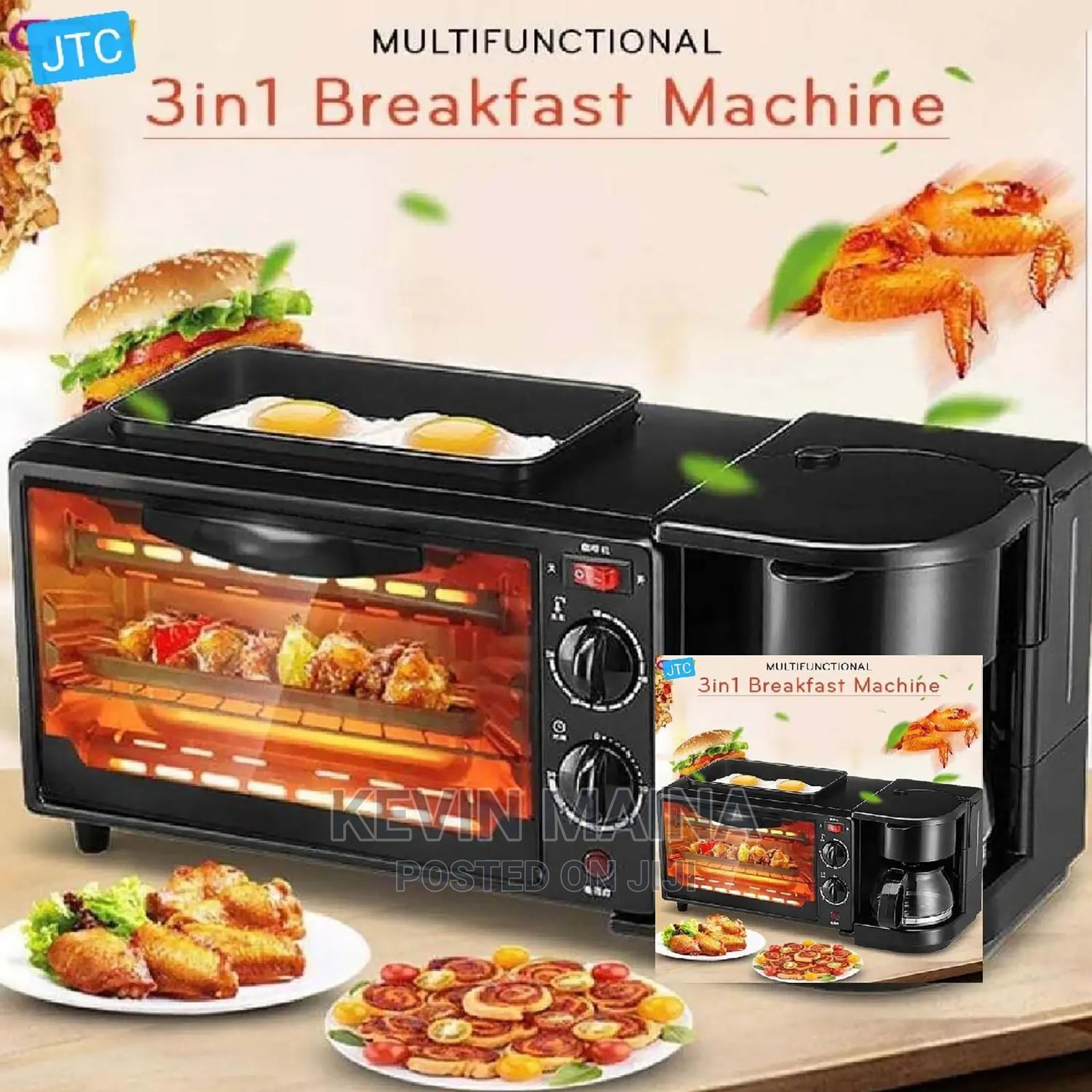 Coffee BREAKFAST Machine With Electric Oven